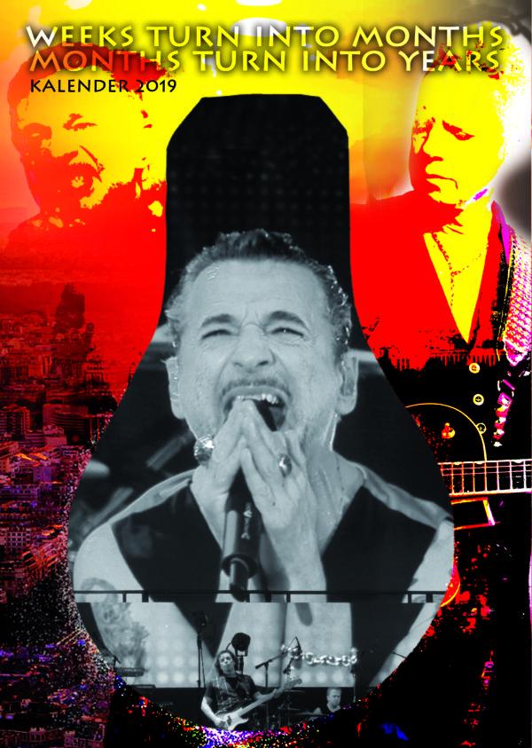 Depeche Mode Kalender 2019 bestellen